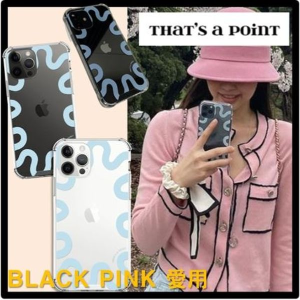 BLACK PINK ジェニ愛用★関税込★That 's a point★curly ケース