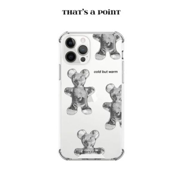 【that's a point】 iPhone case clod but warm bear