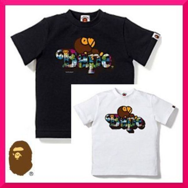 A BATHING APE(アベイシングエイプ)FUTURE MILO ON BAPE T:送込