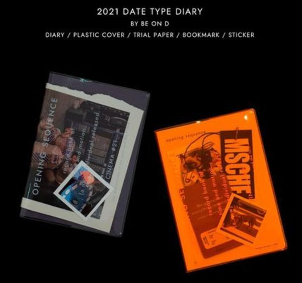 【Be on D】 2021 opening sequence diary (日付型)