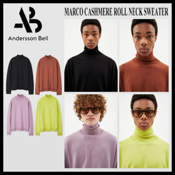 ◆ANDERSSONBELL◆MARCO CASHMERE ROLL NECK SWEATER ハイネック