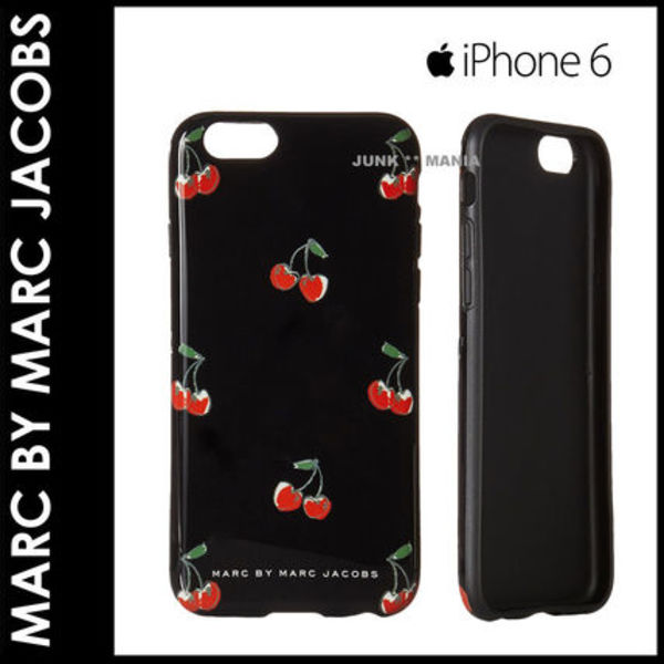 ★即日発送【関税返金・Marc by…】iPhone6&6S/Cherry Print