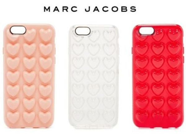 NEW!国内発送!MARC JACOBS*Jelly Heart iPhone 6 / 6s ケース♪