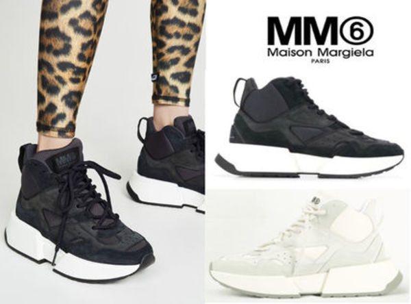 MM6 MAISON MARGIELA★lace-up leather スニーカー/S40WS0122