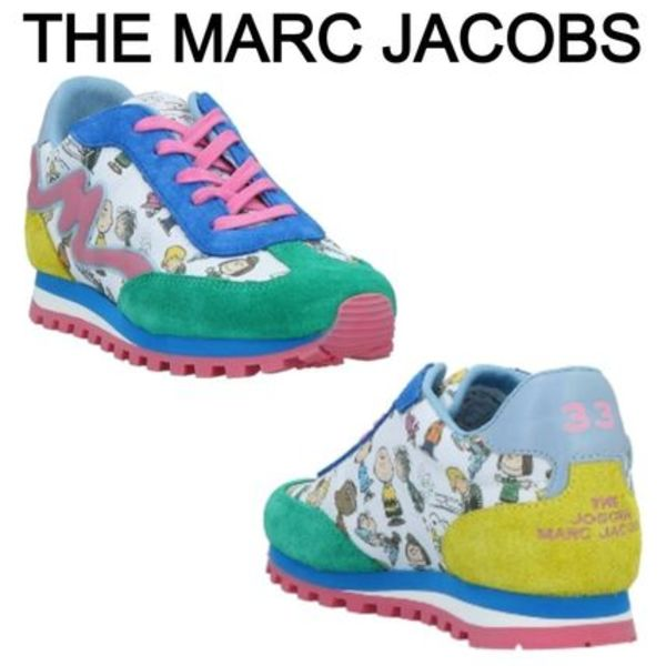 ★THE MARC JACOBS★スヌーピーデザインスニーカー