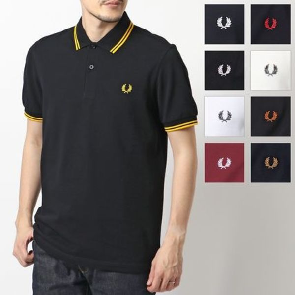 FRED PERRY M3600 TWIN TIPPED FRED PERRY SHIRT ポロシャツ