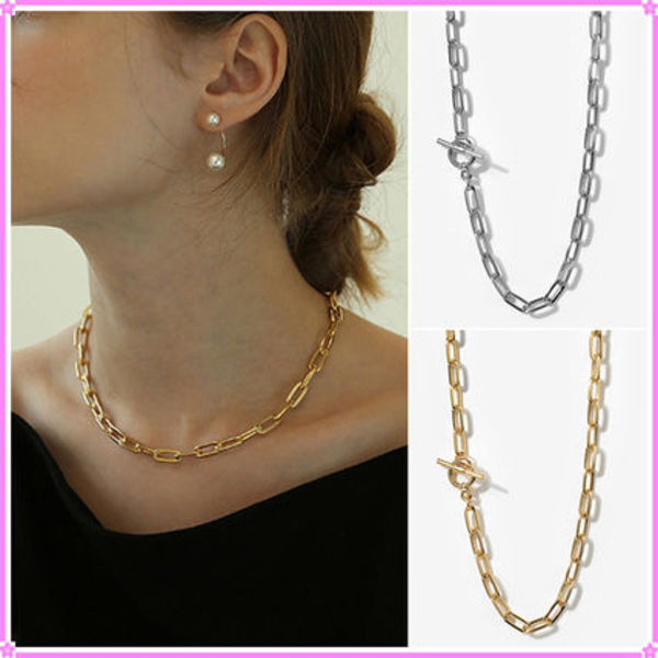 【LAZY DAWN】square chain necklace〜ネックレス★日本未入荷