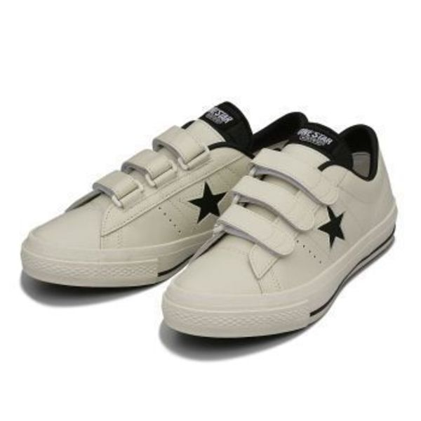 【国内正規品】CONVERSE ONE STAR V-3(A) WHITE/BLACK