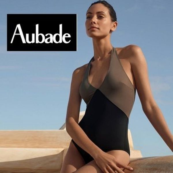 【Aubade】新作ワンピース水着★Beaute Sublime