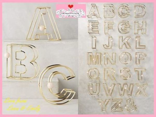 16SS☆最安値保証*送料込【Anthro】Illusion Monogram Letter