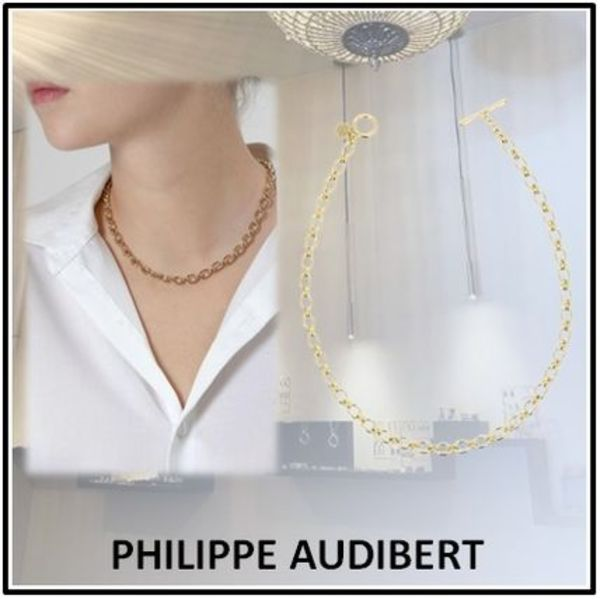 Philippe Audibert MARCUS チェーンネックレス Gold NECKLACE