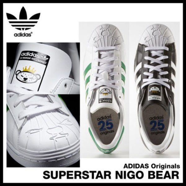 日本未入荷★Adidas Originals SUPERSTAR NIGO BEAR
