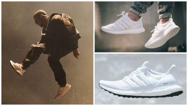 即納! ADIDAS ULTRA BOOST WHITE YEEZY KANYE WEST 白 350 送 込