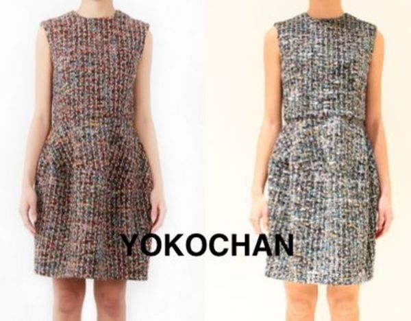 YOKOCHAN♡ノースリーブ Crew-neck Balloon Dress