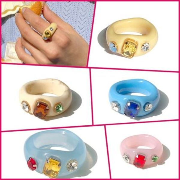 【yOungly yOungley】Pope ring 5色