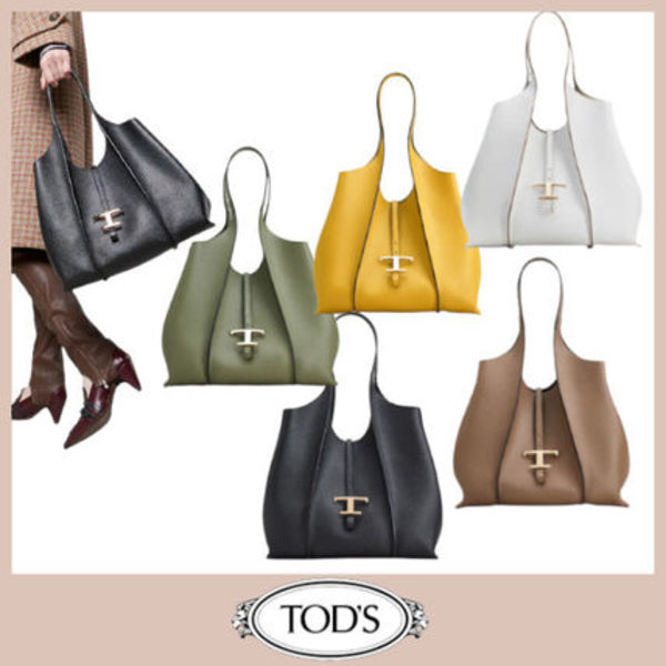 TODS◆直営買付 T タイムレス ショッピング バッグ スモール