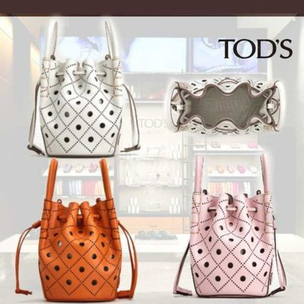 TOD'S直営店◆トッズ マイクロ リファインドレザーバケット 3色