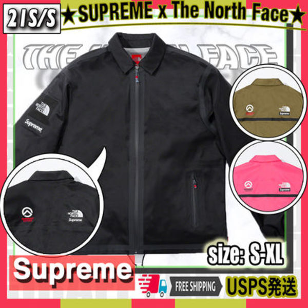 【21SS】SUPREME x The North Face Outer Tape Seem Coaches JK