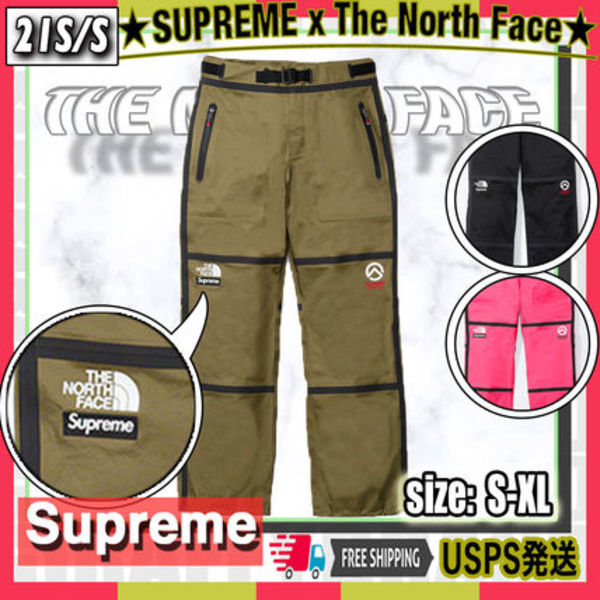 【21SS】SUPREME The North Face Outer Tape Seem Mountain Pant