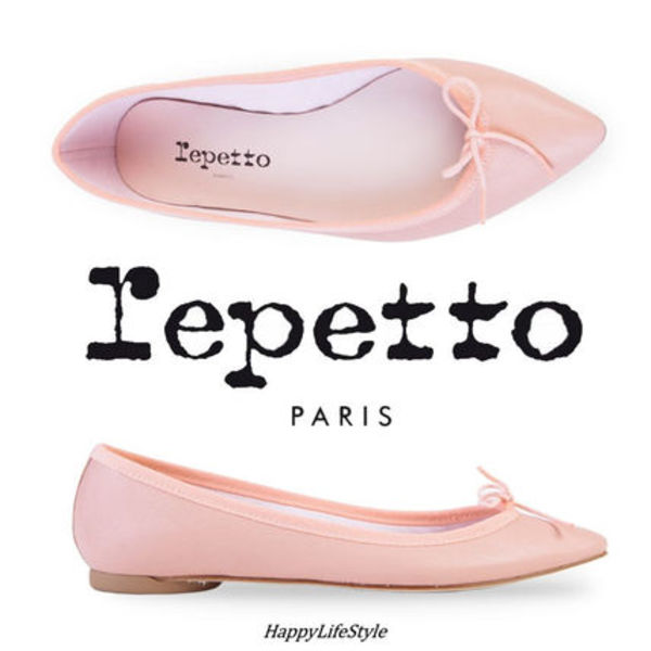 Baby Pink Brigitte Ballerina Shoes★repetto★