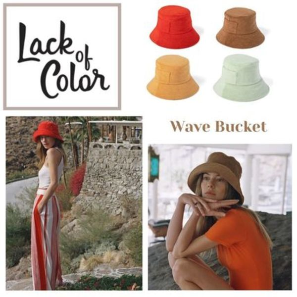 ★.. Wave Bucket Terry - バケットハット 4色  ..★