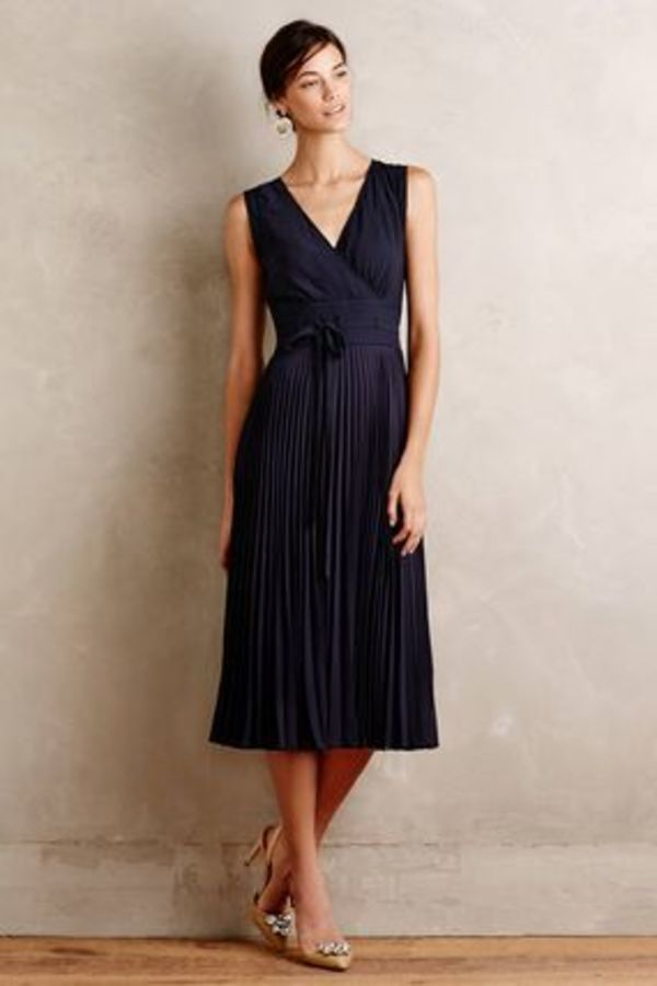 【即発送可!早い者勝ち】AnthropologiePleated Merle Dress