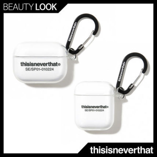 【thisisneverthat】正規品★T-Logo AirPods Pro Case Clear