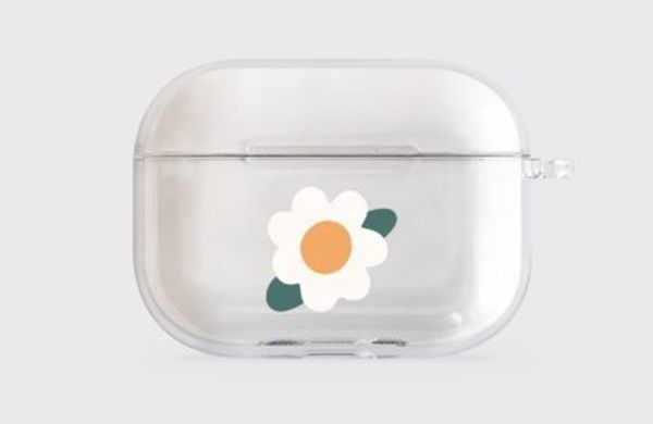 [THENINEMALL] marguerite - Clear AirPods Pro Case