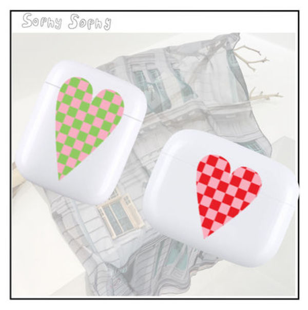 ★sophysophy★ Heart Checker airpods ケース 2カラー