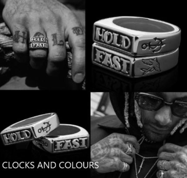 ★ CLOCKS AND COLOURS ★  HOLD FAST 指輪