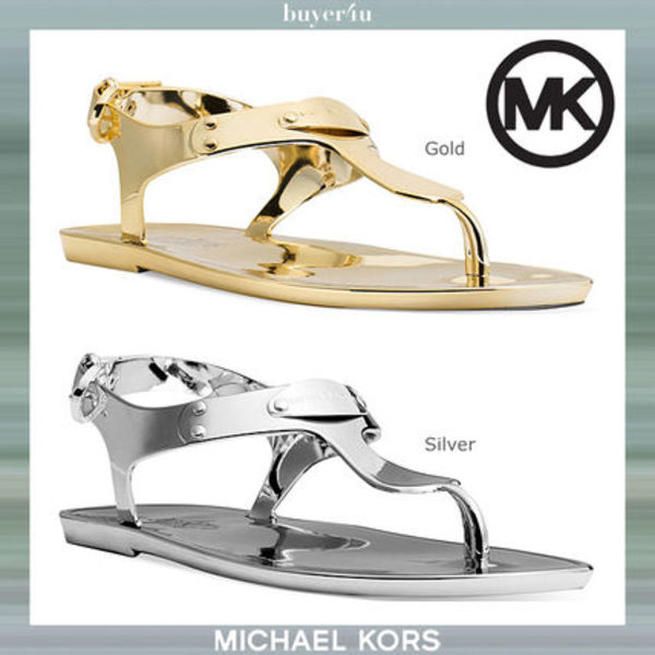 ★Michael Kors★トングサンダル☆Plate Jelly Thong Sandals♪