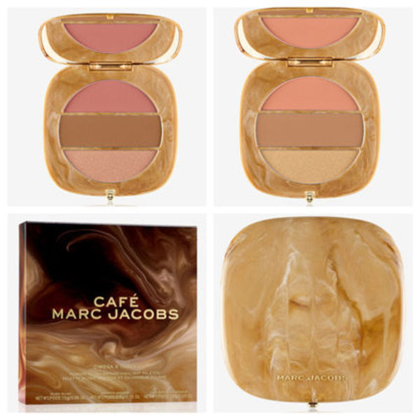 MARC JACOBS パウダー チーク ブロンザー ハイライター パレット
