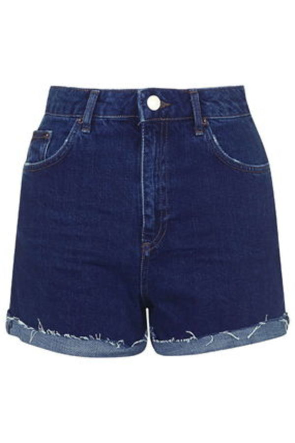 《はきこむとカワイイ♪》☆TOPSHOP☆Indigo Girlfriend Shorts