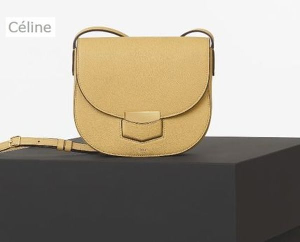 国内発送  関税・送料込【CELINE】TROTTEUR SMALL BAG_Vanilla