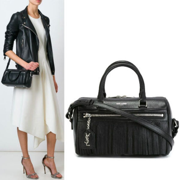 16SS WSL693 CLASSIC FRINGED BABY DUFFLE