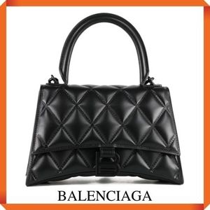 BALENCIAGA HOURGLASS SMALL MATELASSE BAG