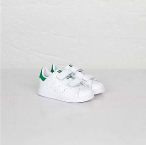 [adidas] STAN SMITH (M20609/M20607) ホワイトのグリーン