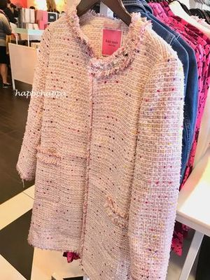 【kate spade】復刻!maineline tweed coat☆