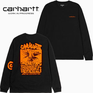 ★20-21FW★CARHARTT★L/S INTERNATIONAL OPERATIONS T-SHIRT