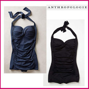 Anthropologie★Seafolly★ボーイレッグワンピ水着☆2カラー