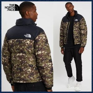 ★ THE NORTH FACE ★ 1996 RETRO NUPTSE ヌプシ ダウン camo
