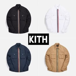 ★KITH★MILITARY CRISPY NYLON WORK SHIRT *全4色
