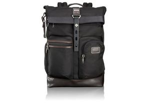 TUMI ALPHA BRAVO  LUKE ROLL-TOP BACKPACK # 222388