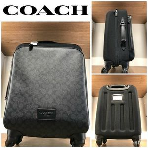 【COACH】☆お買い得☆F73169☆WHEELED CARRY ON IN SIGNATURE