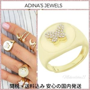 Adina's Jewels☆Pave Butterfly Ring バタフライリング
