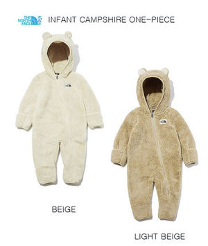 THE NORTH FACE ★ INFANT CAMPSHIRE ONE-PIECE★ベイビー 2色