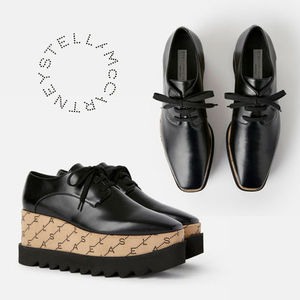 Stella McCartney☆Elyse Monogram Shoes モノグラムシューズ☆