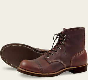 RED WING 6-INCH IRON RANGER STYLE NO. 8111