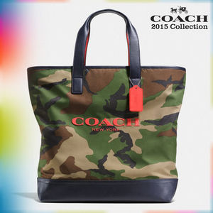 【日本未入荷】COACH F71758 DYA MERCER TOTE IN PRINTED NYLON
