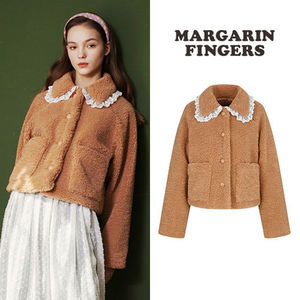 ★Margarin Fingers★新作★送料込み★韓国 人気 teddy lace fur